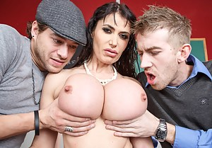 Big Boobs Threesome Porn Pictures