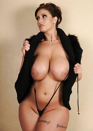 Big Boob MILF Porn Pictures