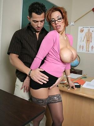 Big Boob Teacher Porn Pictures