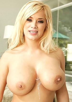 Cum on Big Boobs Porn Pictures
